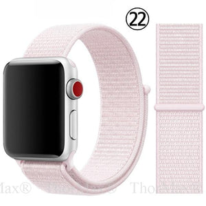 Soft Lightweight Breathable Nylon Sport WatchBand for Apple Watch - Elegance & Splendour