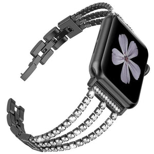 Charlotte Band Compatible With Apple Watch - Elegance & Splendour