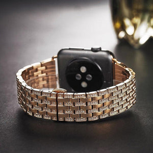 Indulgence Series Pure Luxury Diamond Bands For Apple Watch