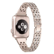 Load image into Gallery viewer, Rhinestone Band Compatible With Apple Watch - Elegance & Splendour