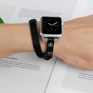 Elegant Leather Loop Strap For Apple Watch 4 3 2 1