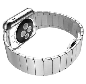 High Quality Luxury Link Bracelet Stainless Steel Band For Apple Watch - A Premium Product - Elegance & Splendour