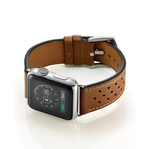 Refined Leather loop band For Apple Watch - Elegance & Splendour