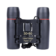 Load image into Gallery viewer, Binoculars With Low Light Night Vision- 30 x 60 Zoom Outdoor Travel Folding Telescope - Elegance & Splendour