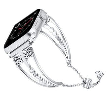 Load image into Gallery viewer, Excelsior - New Women Diamond Band Compatible With Apple Watch - Elegance & Splendour