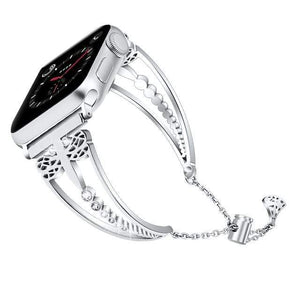 Excelsior - New Women Diamond Band Compatible With Apple Watch - Elegance & Splendour