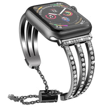 Load image into Gallery viewer, Pulsera Diamond  Bracelet For Apple Watch - Series 5 4 3 2 1