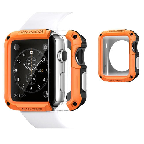Anti-fall Frame Shell SGP Protector Cases Cover For Apple Watch