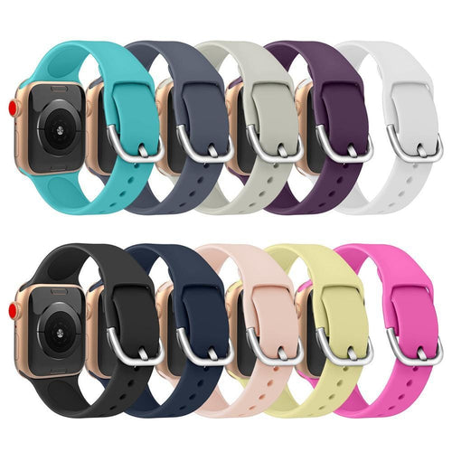 New Fashion Candy Color Sporty Silicone Apple Watchband