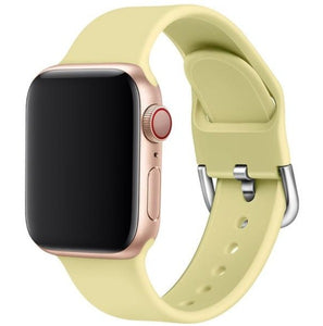 New Fashion Candy Color Sporty Silicone Apple Watchband - Elegance & Splendour
