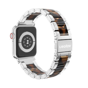 Luxury Metal Replacement Stainless Steel Strap for Apple Watch Series 5 4 3 2 1 - Elegance & Splendour