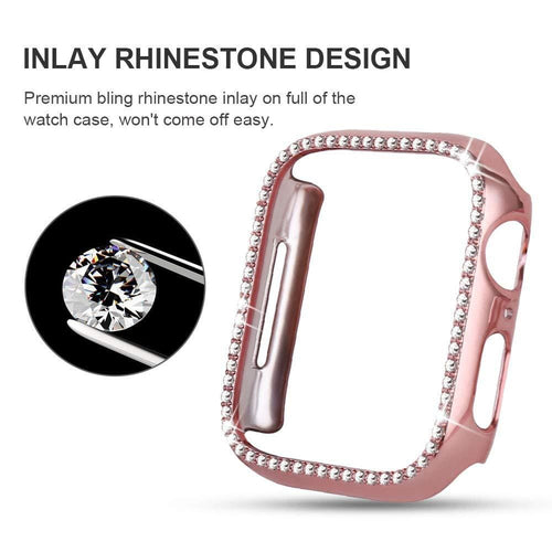 Diamond Case For Apple Watch Series 5 4 3 2 1 - Elegance & Splendour