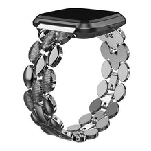 Load image into Gallery viewer, Luxury Stainless Steel Replacement Metal Wristbands For Fitbit Versa & Versa Lite - Elegance & Splendour