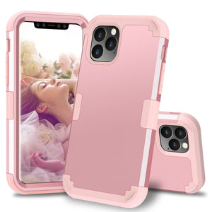 High Quality 3 Layers Hybrid Shockproof Armor Case  - Perfect Protection For iPhone - Elegance & Splendour