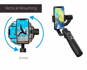 Gimbal 3-Axis For Smartphone With Handheld Stabilizer - Elegance & Splendour