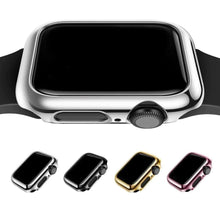 Load image into Gallery viewer, Shiny Plastic Bumper Hard Electroplated Case For Apple Watch - Elegance & Splendour