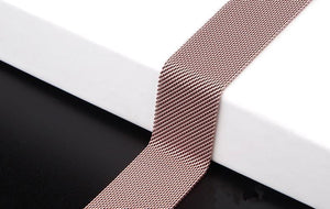 Milanese Loop Bracelet Stainless Steel Band Compatible With Apple Watch - Elegance & Splendour
