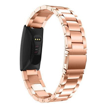 Load image into Gallery viewer, Stainless Steel Smart  Replacement Band Wrist Band For Fitbit Inspire HR - Elegance & Splendour