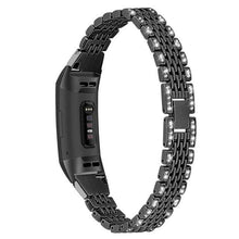 Load image into Gallery viewer, Diamond Stainless Steel Chained Metal Band For Fitbit Charge 2 Charge 3 - Elegance & Splendour