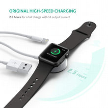 Load image into Gallery viewer, Apple Watch + iPhone - 2 in 1 Wireless 1 Meter Magnetic Charger Cable - A Must To Have! - Elegance & Splendour