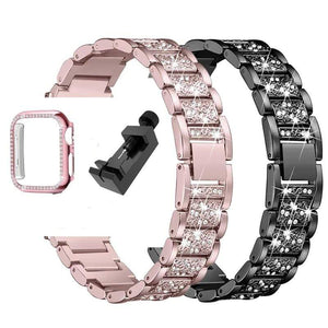 Scarlet Diamond Band & Case For Apple Watch 40mm 44mm 38mm 42mm Series 5 4 3 2 1 - An Absolute Charm! - Elegance & Splendour
