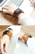 Load image into Gallery viewer, Premium Leather Loop Band Compatible With Apple Watch - Elegance & Splendour