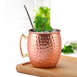 Premium Copper Plated Mug For Cocktails - Elegance & Splendour