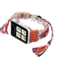 Load image into Gallery viewer, Handmade Retro Colorful Band Compatible With Apple Watch - Elegance & Splendour