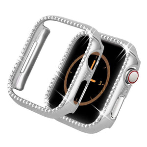 Quasar Protective Diamond Case Compatible With Apple Watch