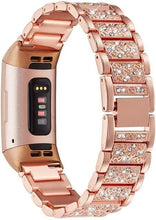 Load image into Gallery viewer, Bling Diamond Fitbit Bands For Charge 2 & Charge 3 - Elegance & Splendour
