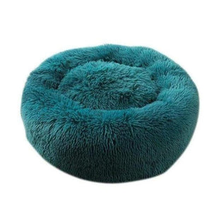 Luxury Soft Plush Round Shape Sleeping Bed For Cats & Dogs - Elegance & Splendour