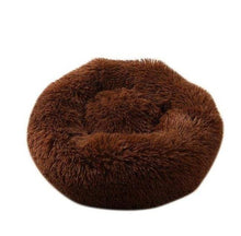 Load image into Gallery viewer, Luxury Soft Plush Round Shape Sleeping Bed For Cats & Dogs - Elegance & Splendour