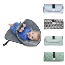 Load image into Gallery viewer, Changing Pad Diaper -Waterproof Multifunction Portable Diaper Cover Mat - Elegance & Splendour