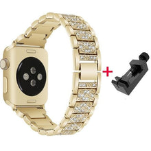 Load image into Gallery viewer, Diamond Band + Case For Apple Watch - Elegance & Splendour