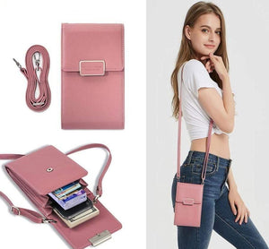 Ladies Wallet Phone Sling Bag - Elegance & Splendour