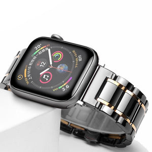 Laurel - Premium Quality Ceramic Compatible With Apple Watch - Elegance & Splendour