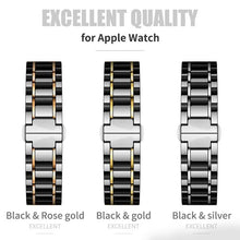 Load image into Gallery viewer, Laurel - Premium Quality Ceramic Compatible With Apple Watch - Elegance & Splendour