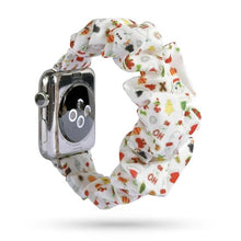 Load image into Gallery viewer, Scrunchies Elastic Strap Compatible With Apple Watch - Elegance & Splendour