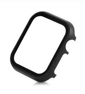 Glass Frame + Metal Case Compatible With Apple Watch - Elegance & Splendour
