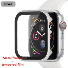 Load image into Gallery viewer, Glass Frame + Metal Case Compatible With Apple Watch - Elegance & Splendour