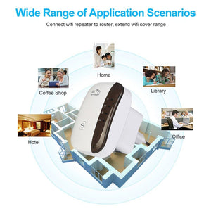 Wireless WiFi Booster/Repeater/Extender - Elegance & Splendour