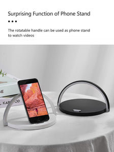 Mobile Phone Wireless Charger + An Exclusive Night Light Table Lamp - Elegance & Splendour