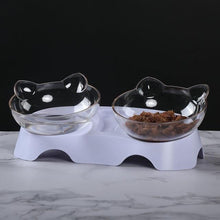 Load image into Gallery viewer, Pet Elevated Durable Double Feeding Bowl - Elegance & Splendour