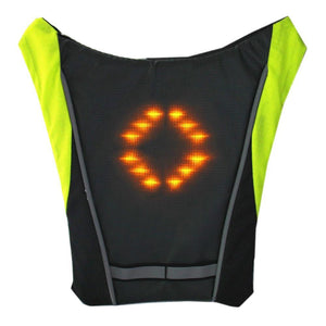 Reflective LED Cycling Jacket - Vests For Bicycle For Night Riding - Elegance & Splendour
