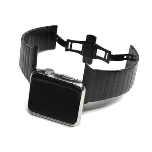 Butterfly Buckle Band Compatible With Apple Watch - Elegance & Splendour