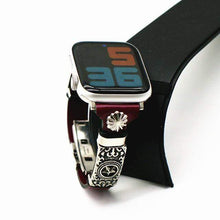 Load image into Gallery viewer, Handmade Retro Style Band Compatible With Apple Watch - Elegance & Splendour