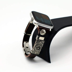 Handmade Retro Style Band Compatible With Apple Watch - Elegance & Splendour