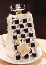 Load image into Gallery viewer, Luxury Diamond Mobile Case For Samsung With Lanyard Chain - Elegance & Splendour