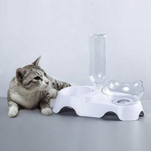 Pet Elevated Durable Double Feeding Bowl - Elegance & Splendour
