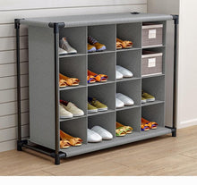 Load image into Gallery viewer, Shoe Organizer Stand - Shoe Rack Storage Cabinet - Elegance & Splendour